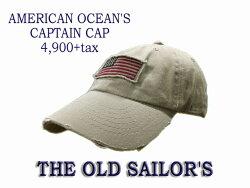 THEOLDSAILOR'SオールドセイラーズアメリカンオーシャンズキャプテンCAP