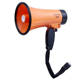 防雨 ハンドメガホン AHM-201 オレンジ 径14×長さ20.5×把手部11cm 旭電機化成(Asahi Denki Kasei) | 拡声器 メガホン 防災用 運動会用 緊急時 旭電機化成 スマイルキッズ