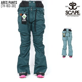 セール SALE エスケープ SCAPE アレス パンツ ARES PANTS ウェア スノボ 711-183-38 レディース