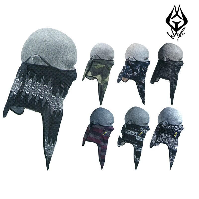 予約商品 18-19 新作 HECK ヘック フェイスマスク CENTER SPLIT ネックウォーマー スノーボード メンズ レディース
