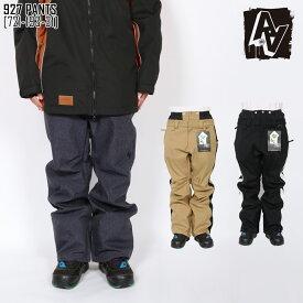 SALE セール 19-20 AA HARDWEAR ダブルエー スノボ ウェア メンズ パンツ 927 PANTS スノーボードウェア スキーウェア