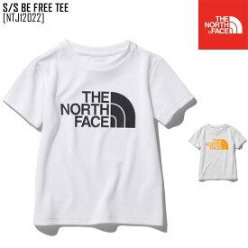 セール ノースフェイス NTJ12022 キッズ 半袖 Tシャツ 男の子 女の子 アウトドアブランド S/S BE FREE TEE
