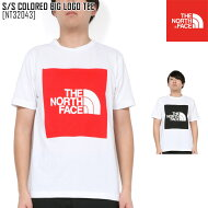 ノースフェイスTシャツ半袖メンズアウトドアブランドS/SCOLOREDBIGLOGOTEENT32043