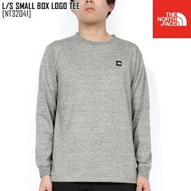 セール ノースフェイス NT32041 Tシャツ 長袖 メンズ ロンT アウトドアブランド L/S SMALL BOX LOGO TEE
