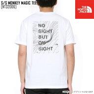 THENORTHFACEノースフェイスメンズTシャツS/SMONKEYMAGICTEEトップスNT31853