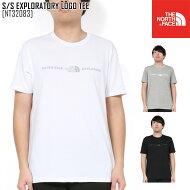 ノースフェイスTシャツ半袖メンズアウトドアブランドS/SEXPLORATORYLOGOTEENT32083