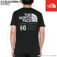 ノースフェイスTシャツ半袖メンズアウトドアブランドS/S66CALIFORNIATEENT32085