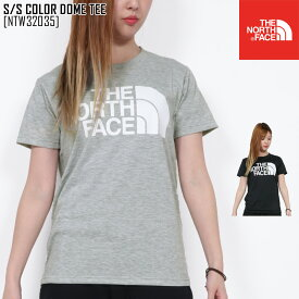 ノースフェイス NTW32035 Tシャツ 半袖 レディース アウトドアブランド S/S COLOR DOME TEE