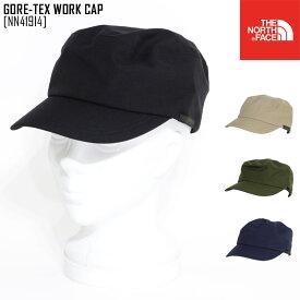 ノースフェイス ワークキャップ 帽子 ゴアテックス メンズ レディース アウトドアブランド GORE-TEX WORK CAP NN41914