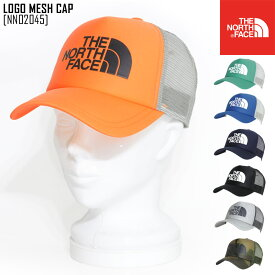 ノースフェイス NN02045 キャップ メッシュキャップ 帽子 メンズ レディース アウトドアブランド LOGO MESH CAP