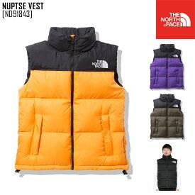セール SALE THE NORTH FACE ノースフェイス ヌプシ ベスト NUPTSE VEST ダウン ベスト ND91843 メンズ