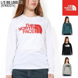 新作 THE NORTH FACE ノースフェイス ロングスリーブ ビッグ ロゴ ティー L/S BIG LOGO TEE Tシャツ トップス NTW82074 レディース