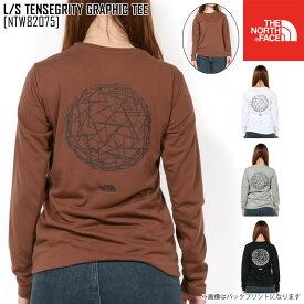 セール SALE THE NORTH FACE ノースフェイス ロングスリーブ テンセグリティ グラフィック ティー L/S TENSEGRITY GRAPHIC TEE Tシャツ トップス NTW82075 レディース