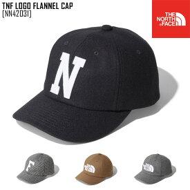新作 THE NORTH FACE ノースフェイス TNF ロゴ フランネル キャップ TNF LOGO FLANNEL CAP キャップ 帽子 NN42031 メンズ レディース