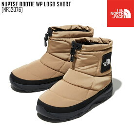 セール SALE THE NORTH FACE ノースフェイス ヌプシ ブーティー ウォータープルーフ ロゴ ショート NUPTSE BOOTIE WP LOGO SHORT ブーツ 靴 NF52076 メンズ レディース