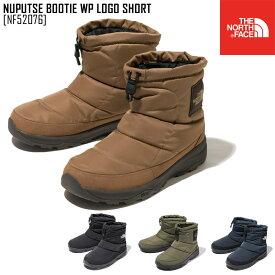 新作 THE NORTH FACE ノースフェイス ヌプシ ブーティ ウォータープルーフ ロゴ ショート NUPTSE BOOTIE WP LOGO SHORT ブーツ 靴 NF52076 メンズ レディース