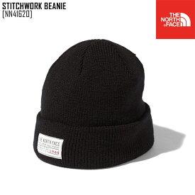 セール SALE ノースフェイス THE NORTH FACE NN41620 スティッチワーク ビーニー STITCHWORK BEANIE 帽子 ニット帽 メンズ レディース