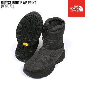秋冬新作 ノースフェイス THE NORTH FACE NF51973 ヌプシ ブーティー ウォータープルーフ プリント NUPTSE BOOTIE WP PRINT ブーツ 靴 メンズ レディース