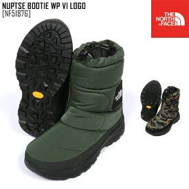 秋冬新作 ノースフェイス THE NORTH FACE NF51876 ヌプシ ブーティー ウォータープルーフ VI ロゴ NUPTSE BOOTIE WP VI LOGO ブーツ 靴 メンズ レディース