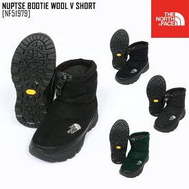 秋冬新作 ノースフェイス THE NORTH FACE NF51979 ヌプシブーティー ウール V ショート NUPTSE BOOTIE WOOL V SHORT ブーツ 靴 メンズ レディース