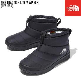秋冬新作 ノースフェイス THE NORTH FACE NF51984 ヌプシ トラクション ライト V ウォータープルーフ ミニ NSE TRACTION LITE V WP MINI ブーツ 靴 メンズ レディース