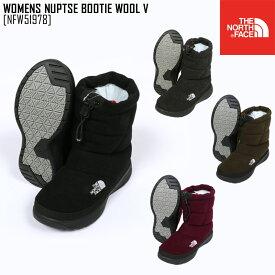 ノースフェイス THE NORTH FACE NFW51978 ウィメンズ ヌプシ ブーティー ウール V W NUPTSE BOOTIE WOOL V ブーツ 靴 レディース