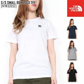春夏新作 ノースフェイス THE NORTH FACE NTW32052 S/S スモール ボックス ロゴ ティー S/S SMALL BOX LOGO TEE Tシャツ トップス レディース