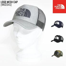 秋冬新作 ノースフェイス THE NORTH FACE ロゴ メッシュ キャップ LOGO MESH CAP キャップ 帽子 NN02045 メンズ レディース