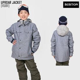 バートン BURTON スノーボードウェア ジャケット BOYS' UPROAR JACKET スキー スノボ ウェア キッズ 男の子