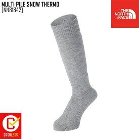 ノースフェイス THE NORTH FACE マルチ パイル スノー サーモ MULTI PILE SNOW THERMO 靴下 ソックス NN81842 メンズ レディース
