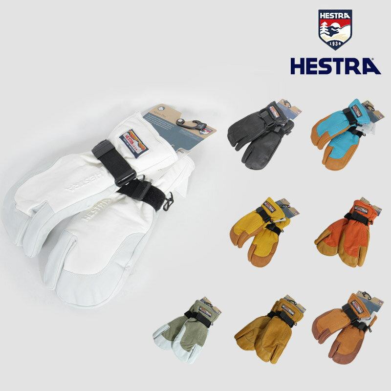 18-19 予約商品 秋冬 新作 ヘストラ HESTRA 3フィンガー フル レザー 3-FINGER FULL LEATHER グローブ スノーボード 30872 メンズ レディース