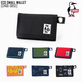 ed985bbddace CHUMS チャムス 財布 ECO SMALL WALLET 三つ折 折りたたみ アウトドアブランド CH60-0852