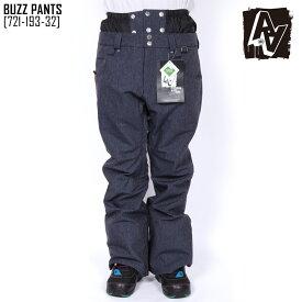 セール SALE ダブルエー AA HARDWEAR バズ パンツ BUZZ PANTS ウェア スノボ 721-193-32 メンズ
