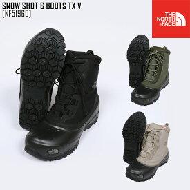 セール SALE 19-20 秋冬 新作 ノースフェイス THE NORTH FACE スノー ショット 6 ブーツ テキスタイル V SNOW SHOT 6 BOOTS TX V ブーツ 靴 NF51960 メンズ レディース
