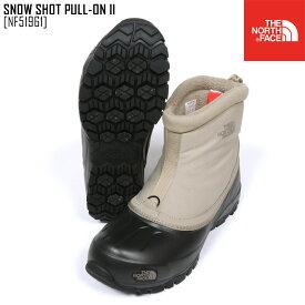 19-20 秋冬 新作 ノースフェイス THE NORTH FACE スノー ショット プル オン II SNOW SHOT PULL-ON II ブーツ 靴 NF51961 メンズ レディース