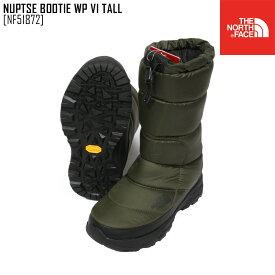 セール SALE ノースフェイス THE NORTH FACE ヌプシ ブーティー ウォータープルーフ VI トール NUPTSE BOOTIE WP VI TALL ブーツ 靴 NF51872 メンズ レディース