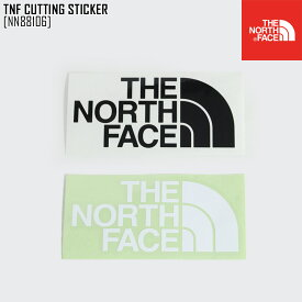 ノースフェイス THE NORTH FACE TNF カッティング ステッカー TNF CUTTING STICKER ステッカー シール NN88106 メンズ レディース