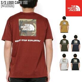 2020 春夏 新作 ノースフェイス THE NORTH FACE ショートスリーブ ロゴ カモ ティー S/S LOGO CAMO TEE Tシャツ トップス NT32035 メンズ