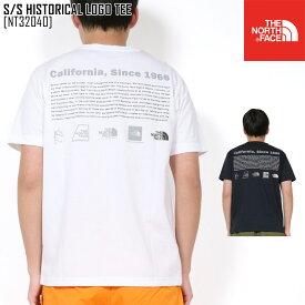 2020 春夏 新作 ノースフェイス THE NORTH FACE ショートスリーブ ヒストリカル ロゴ ティー S/S HISTORICAL LOGO TEE Tシャツ トップス NT32040 メンズ