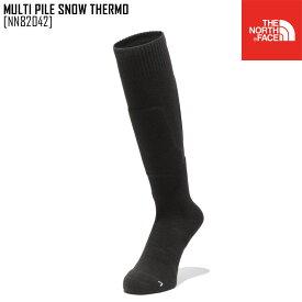 ノースフェイス THE NORTH FACE マルチ パイル スノー サーモ MULTI PILE SNOW THERMO 靴下 ソックス NN82042 メンズ レディース