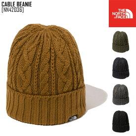 20-21 秋冬 新作 ノースフェイス THE NORTH FACE ケーブル ビーニー CABLE BEANIE 帽子 ビーニー NN42036 メンズ レディース