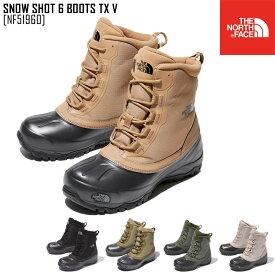 セール SALE ノースフェイス THE NORTH FACE ショート 6 ブーツ テキスタイル V SNOW SHOT 6 BOOTS TX V ブーツ 靴 NF51960 メンズ レディース