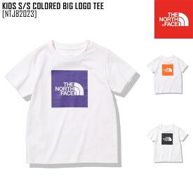 セール SALE ノースフェイス THE NORTH FACE キッズ ショートスリーブ カラード ビッグ ロゴ ティー KIDS S/S COLORED BIG LOGO TEE Tシャツ トップス NTJ82023 キッズ