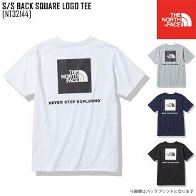 セール SALE ノースフェイス THE NORTH FACE ショートスリーブ バック スクエア ロゴ ティー S/S BACK SQUARE LOGO TEE Tシャツ トップス NT32144 メンズ