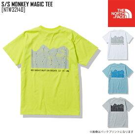 セール SALE ノースフェイス THE NORTH FACE ショートスリーブ モンキー マジック ティー S/S MONKEY MAGIC TEE Tシャツ トップス NTW32140 レディース