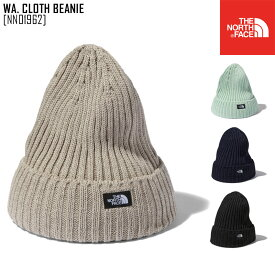 2021 春夏 新作 ノースフェイス THE NORTH FACE ワクロス ビーニー WA. CLOTH BEANIE ニット帽 ビーニー NN01962 メンズ レディース