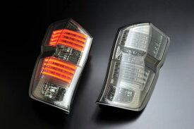ホンダ ステップワゴン  RK1・2・5・6用 2009/10〜  (H21/10〜  )CLEAR WORLD(クリアワールド) LEDクリアテールランプ(インナークローム/スモークレンズ) CTH-42テールランプ テールレンズ