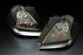 LXX【特価】ホンダ オデッセイ  RB1・2用 1999/11〜2003/10(H11/11〜H15/10)CLEAR WORLD(クリアワールド) LEDユーロテールランプ TYPE-2(スモークレンズ)  ETH-15Sテールランプ テールレンズ