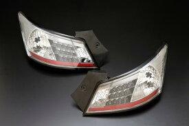 トヨタ bB QNC2#用 2006/01〜   (H18/01〜  )CLEAR WORLD(クリアワールド) LEDクリアテールランプ(スモークレンズ) CTT-08テールランプ テールレンズ