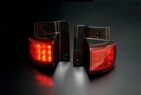LXXニッサン エルグランド  E51 後期用 2004/08〜  (H16/08〜  )CLEAR WORLD(クリアワールド) LEDテールランプ(レッドレンズ) RTN-09テールランプ テールレンズ